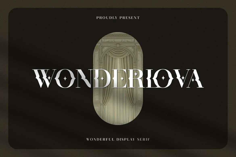Wonderlova Font