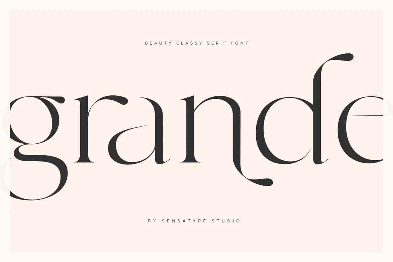 Grande Font