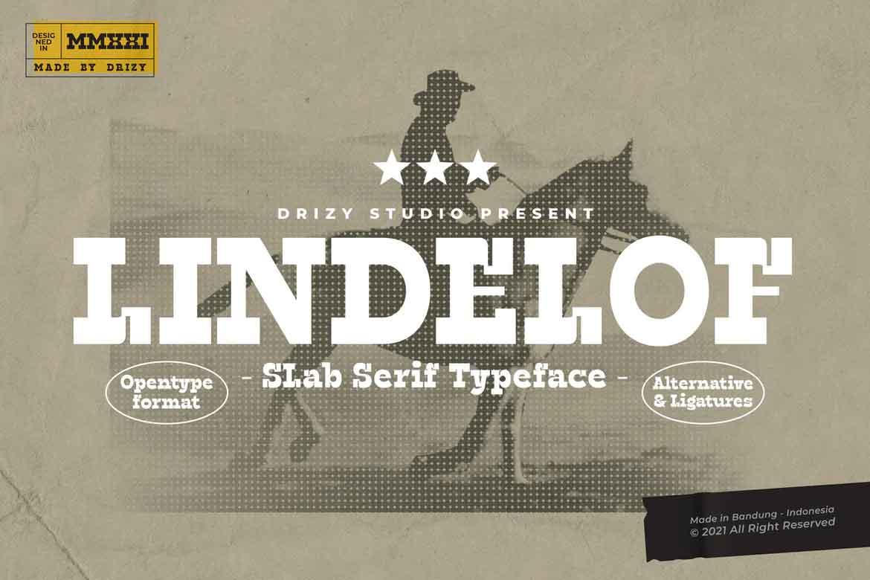Lindelof Font