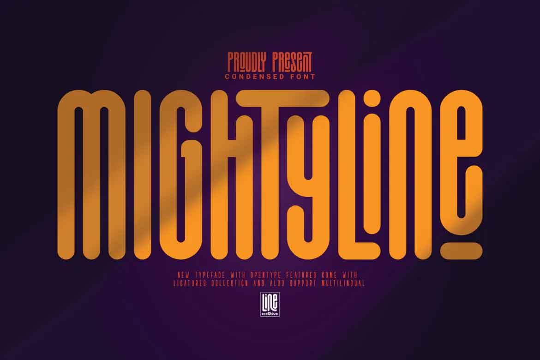 Mightyline Font