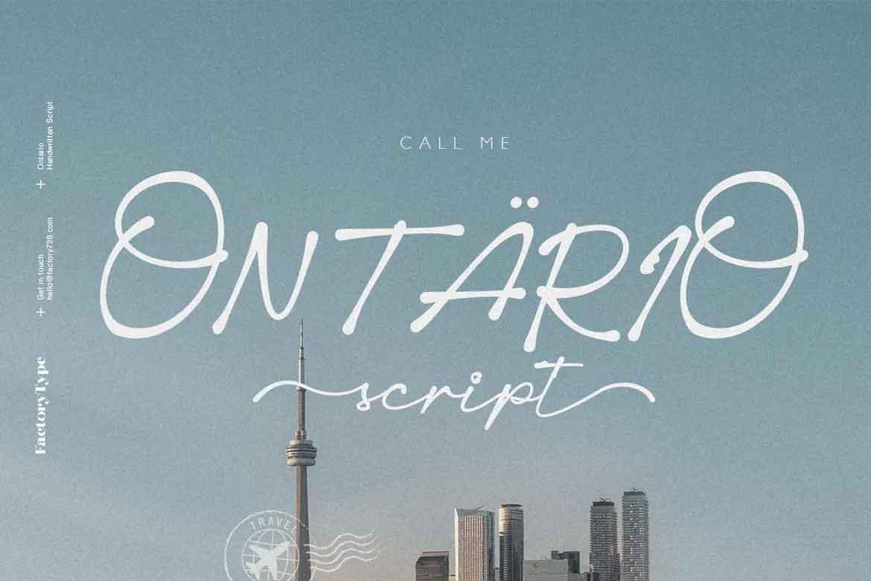 Ontario Script