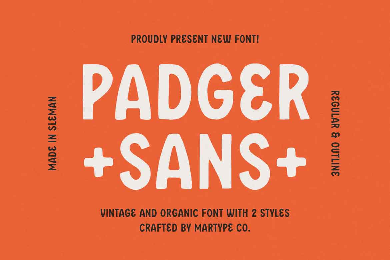 Padger Font