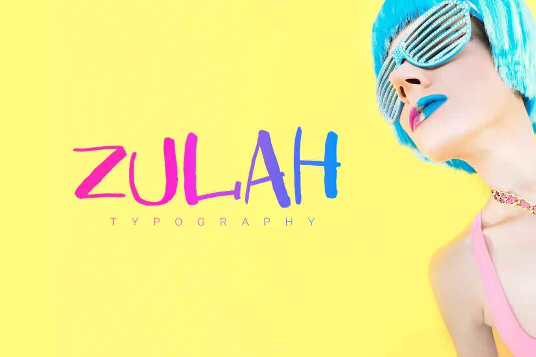 Zulah Font