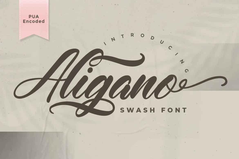 Aligano Font