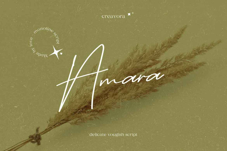 Amara Font