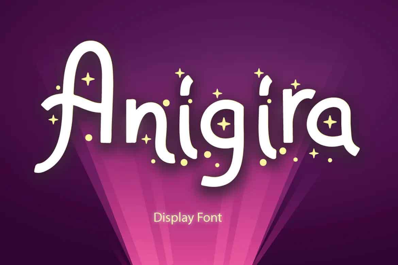 Anigira Font
