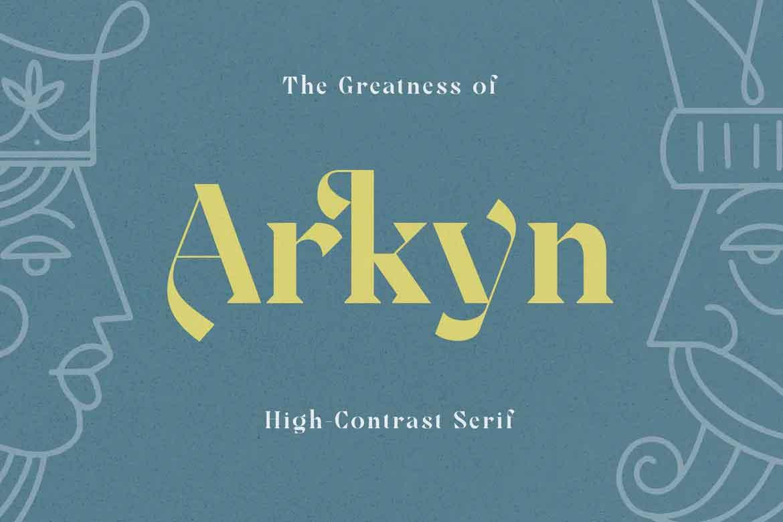 Arkyn Font
