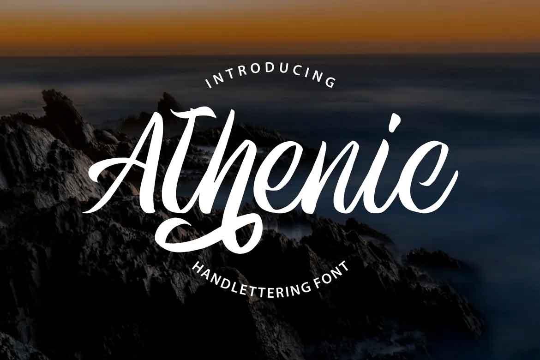 Athenic Font