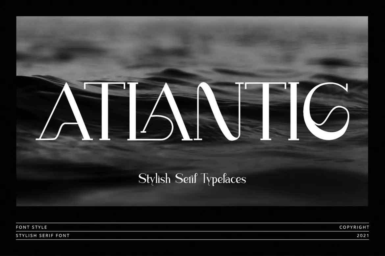 Atlantic Font