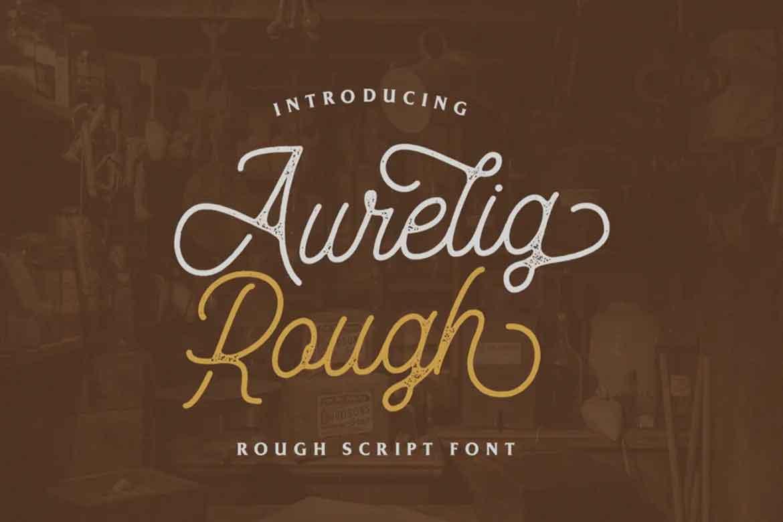 Aurelig Vintage Font