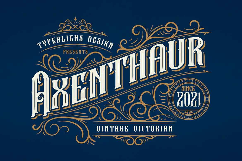 Axenthaur Font