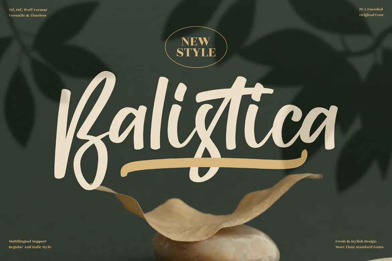 Balistica Font