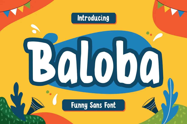 Baloba Font