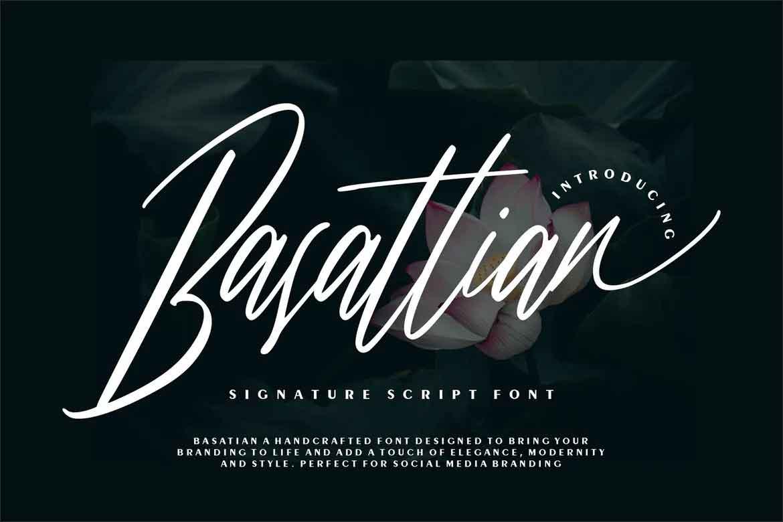 Basattian Font