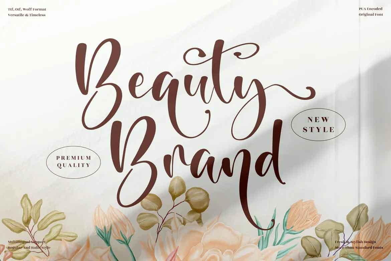 Beauty Brand Font