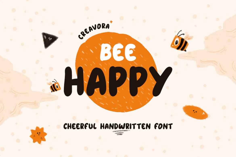 Bee Happy Font