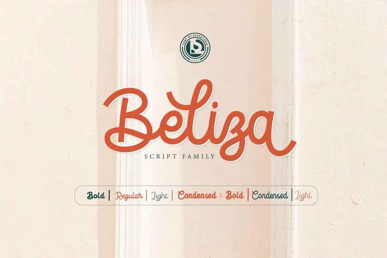 Beliza Font