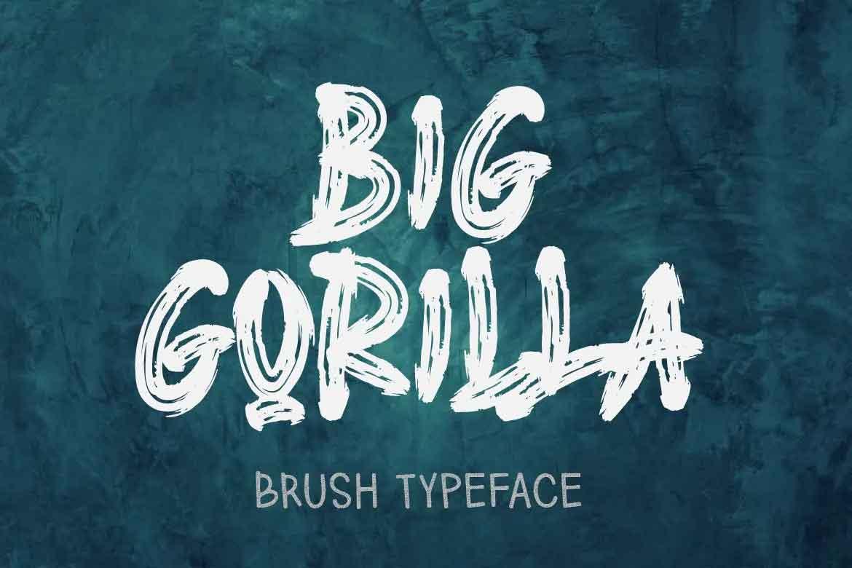 Big Gorilla Font