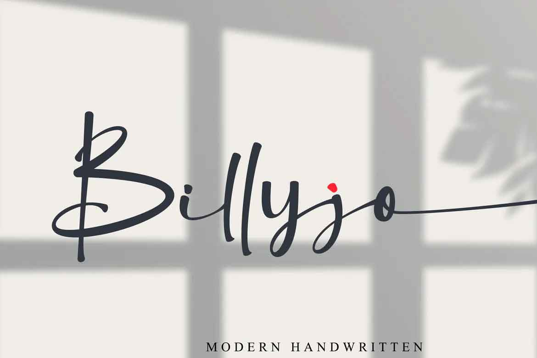 Billyjo Font