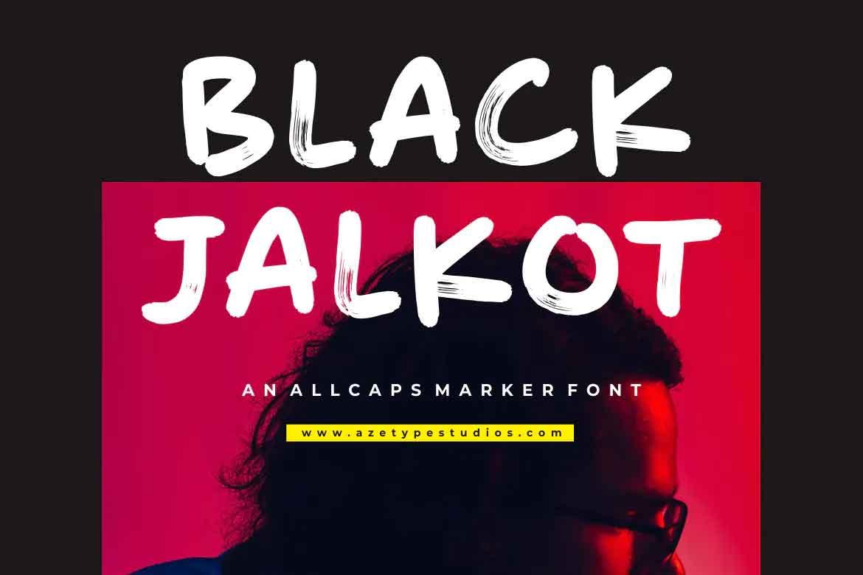 Black Jalkot Font
