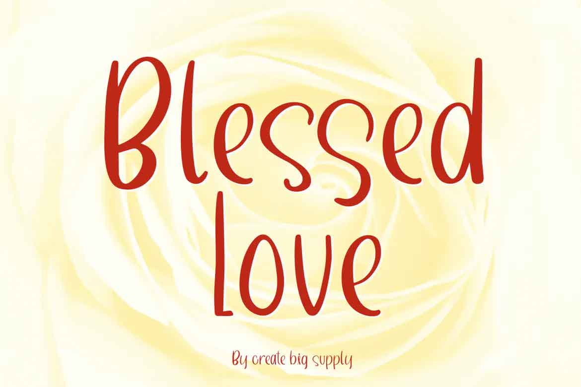 Blessed Love Font
