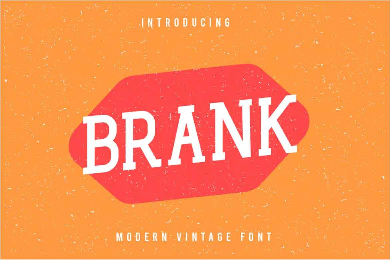 Brank Font