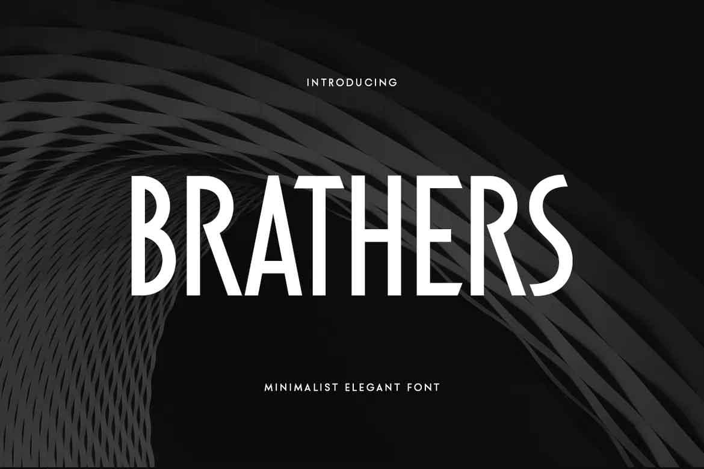 Brathers Font