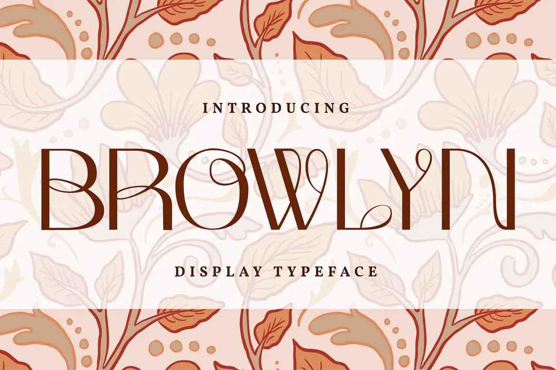 Browlyn Font