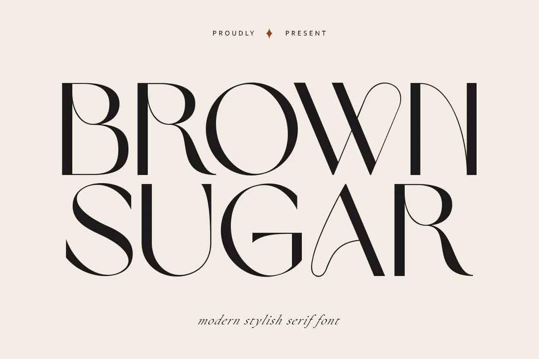 Brown Sugar Font