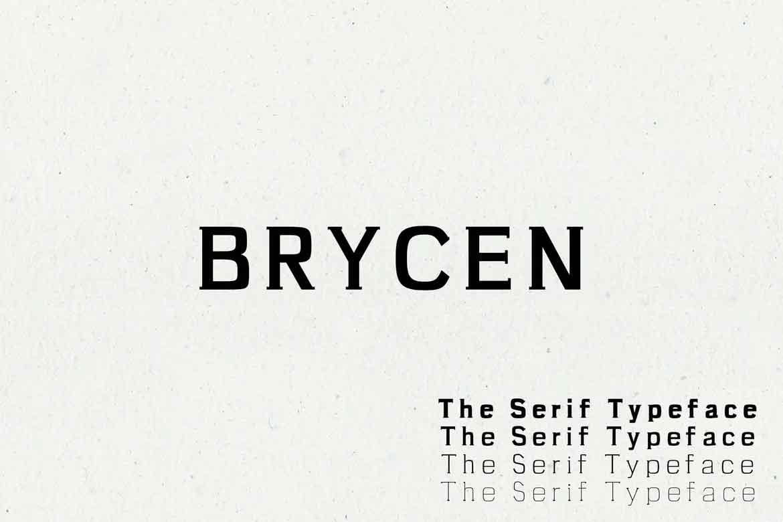 Brycen Font