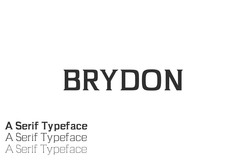 Brydon Font