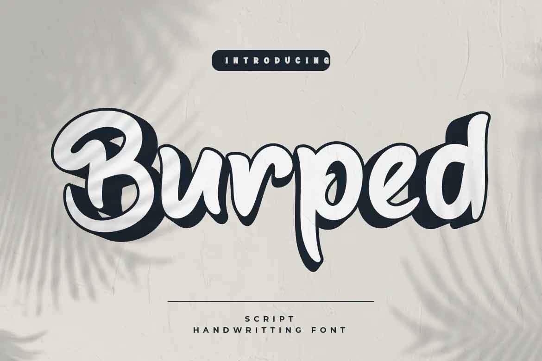 Burped Font