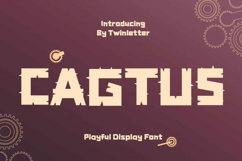 Cagtus Font