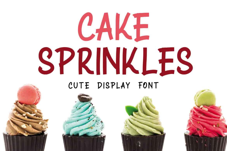Cake Sprinkles Font