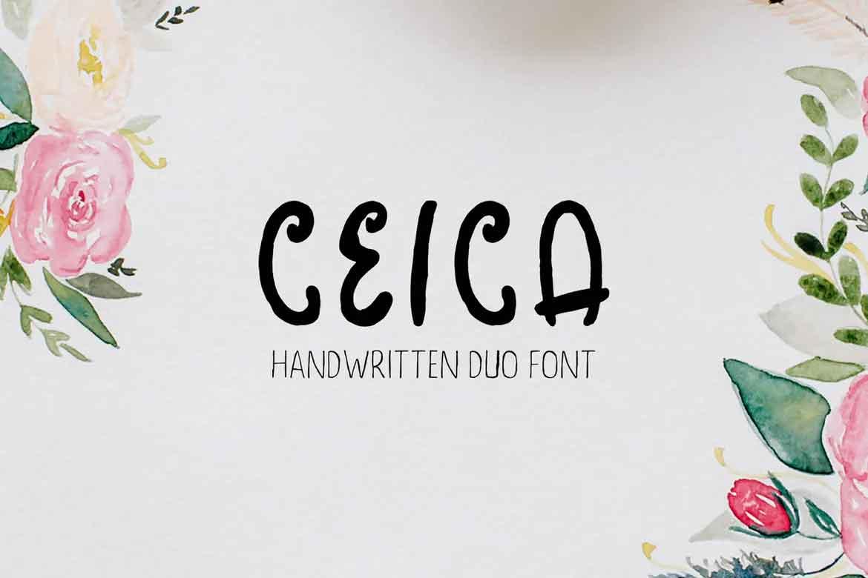 Ceica Duo Font