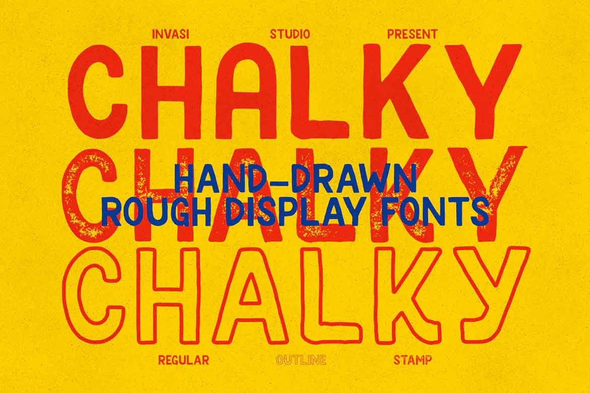 Chalky Font