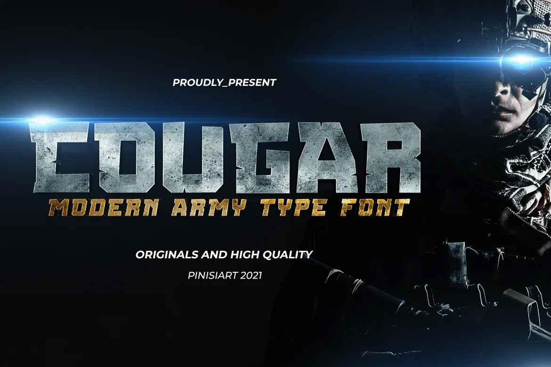 Cougar Font