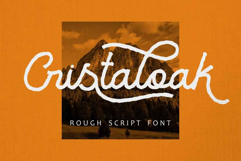 Cristaloak Font