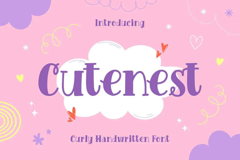 Cutenest Font