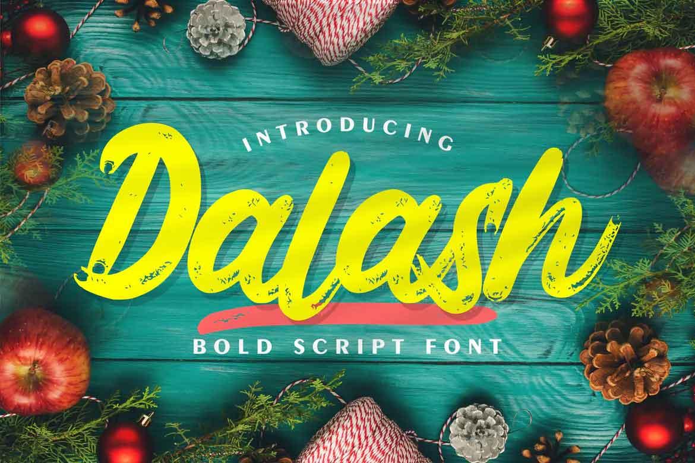 Dalash Font