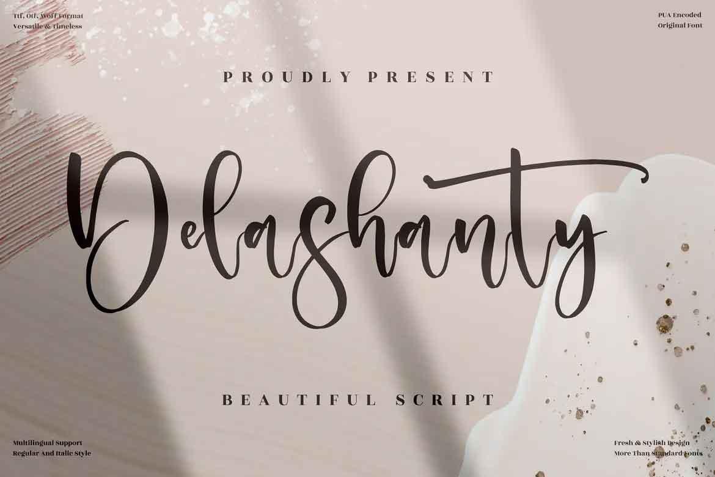 Delashanty Font