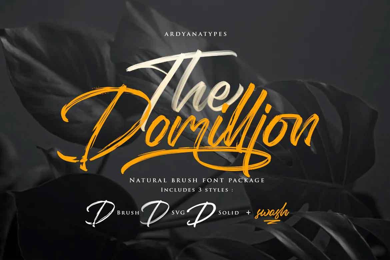 Domilion Font