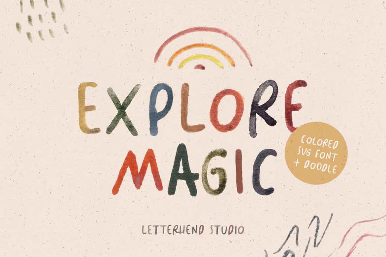 Explore Magic Font