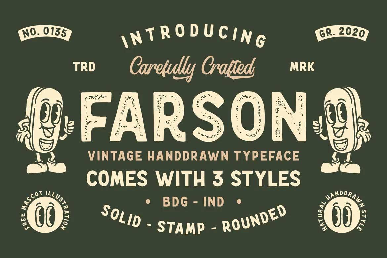 Farson Font