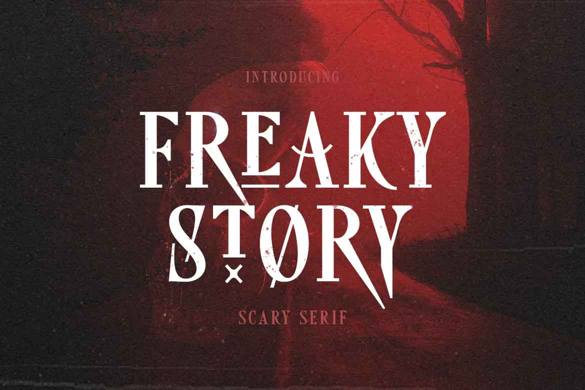 Freaky Story Font