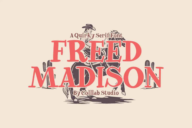 Freed Madison Font