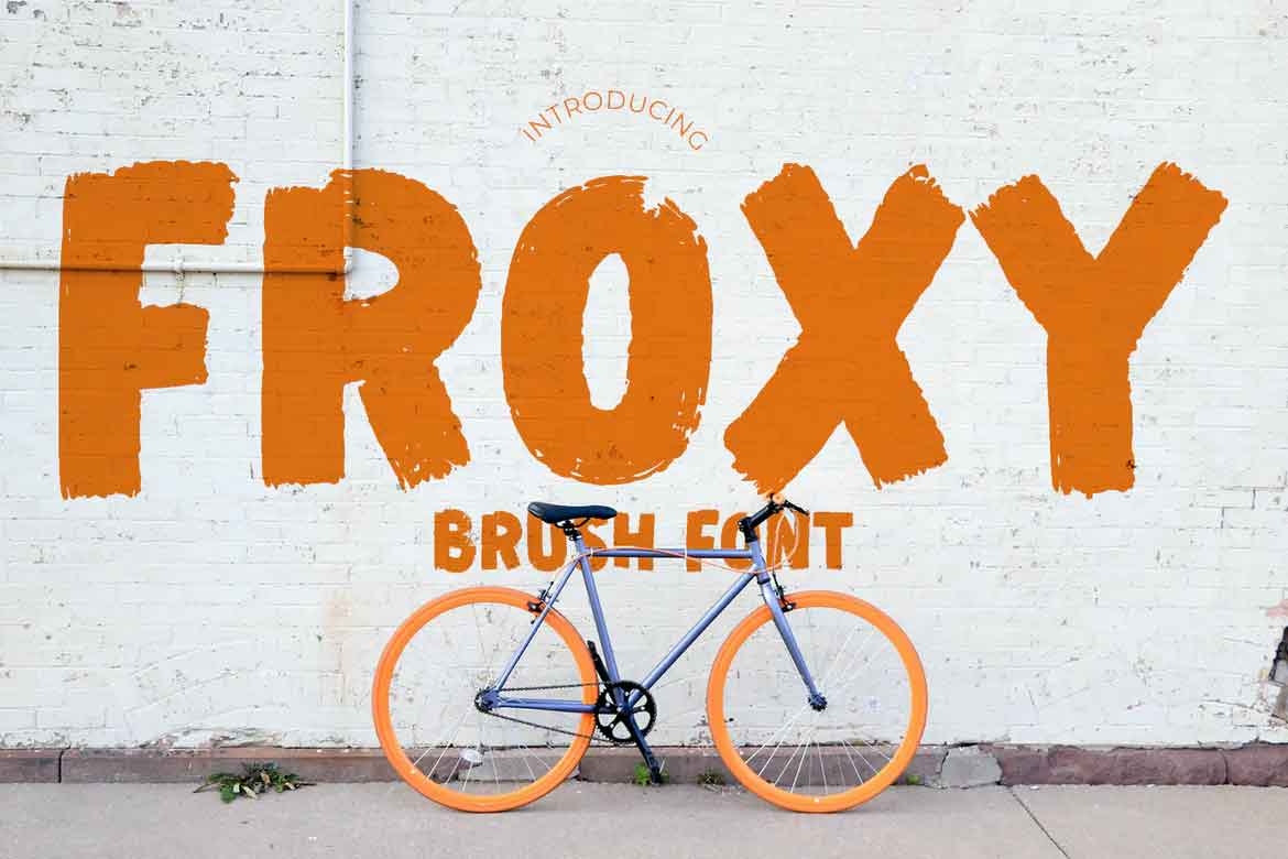 Froxy Font