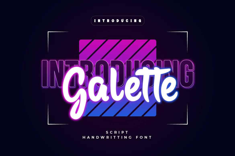 Galette Font