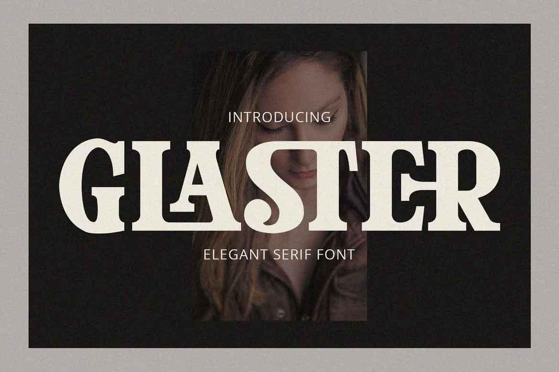 Glaster Font