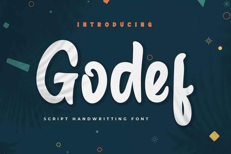 Godef Font
